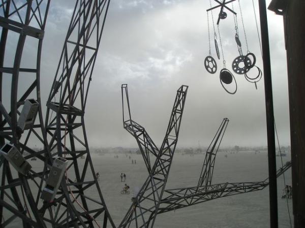 Железное дерево в песках Невады. (Фото 46)