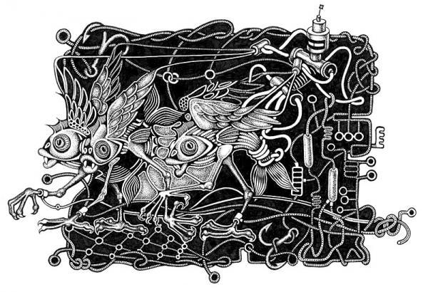 Иллюстраторы студии Артемия Лебедева (Фото 10)