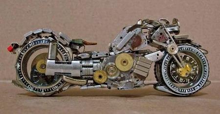 Мотоциклы из часовых механизмов (Фото 16)
