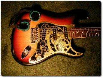 Стимпанк гитара