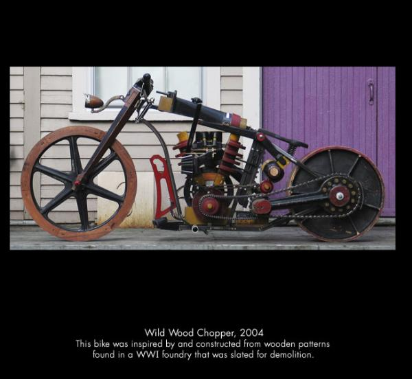 Michael Ulman - арт на колесах. (Дизельпанк) (Фото 7)