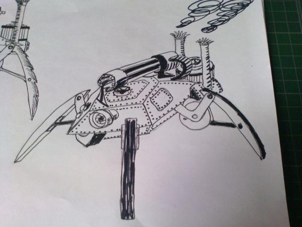 Имперский автономный ударно-разведывательный паровой дрон (Фото 5)