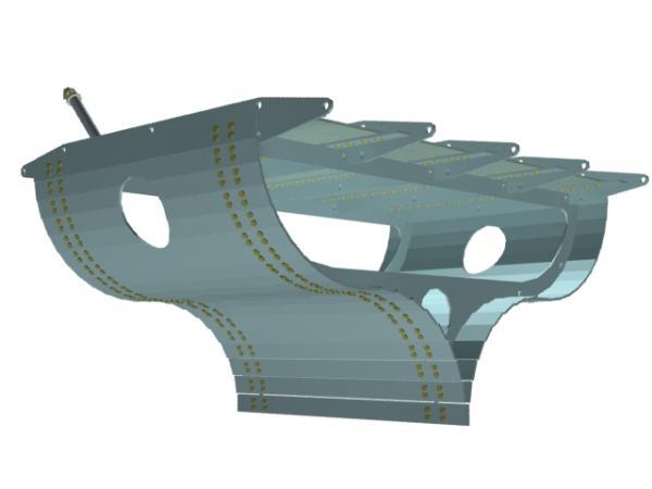 Летучий корабль 2 (3D-модель шаг за шагом) (Фото 24)