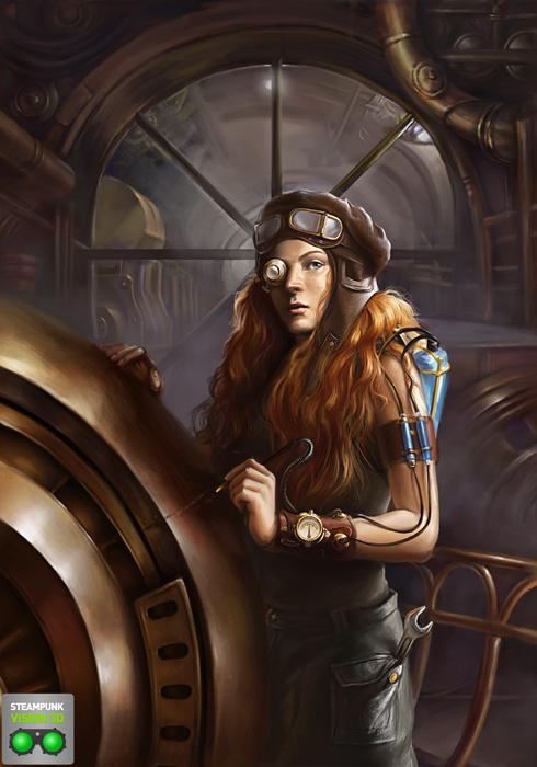 Работа на конкурс Steampunk-Vision 3D в Студию, автор gael
