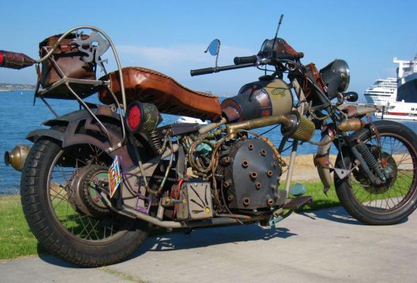 мотоцикл Dave Geertsen
