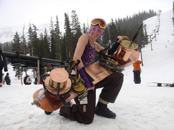 Ретро-сноуборд