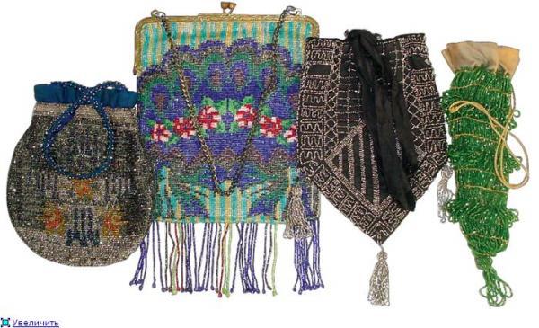 Дамские сумочки в Викторианскую эпоху (Фото 17)