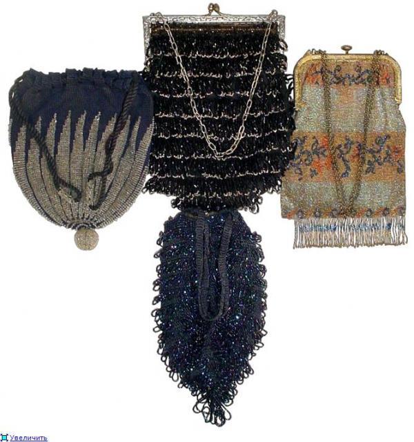 Дамские сумочки в Викторианскую эпоху (Фото 11)