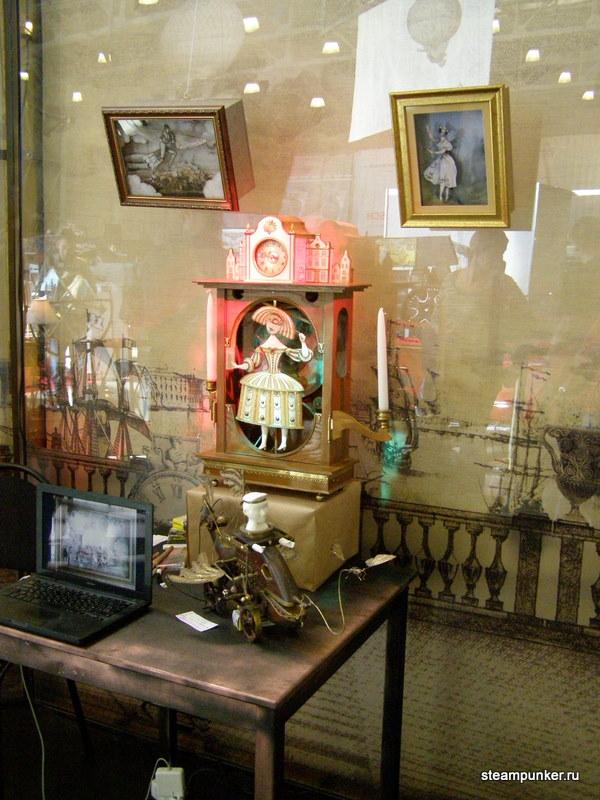 """Стимпанк стенд на """"Олдтаймер-галерее"""" 7-10 октября 2010 (Фото 6)"""
