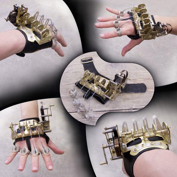 Clockwork Hand и другие замечательные работы Mikko Anttonen