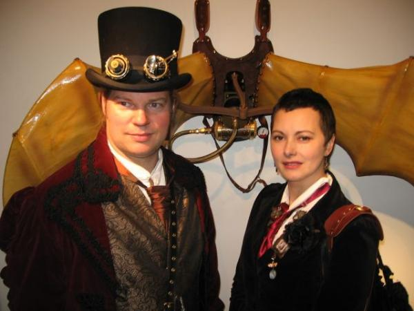 Steampunk Exhibition at Oxford