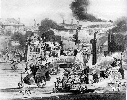 A View in Whitechapel Road, 1831