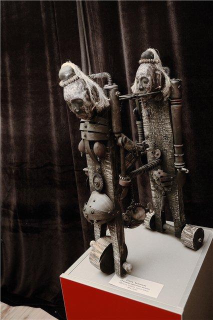 Механическая скульптура в женском исполнении (Фото 6)