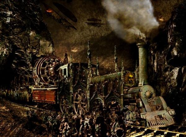 Stephen Rothwill. Стимпанк или викторианский кошмар (Фото 2)