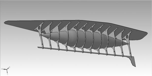 Летучий корабль 2 (3D-модель шаг за шагом) (Фото 5)