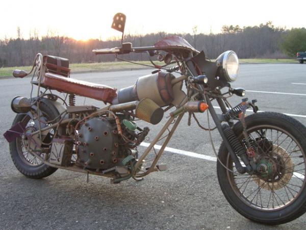 мотоцикл Dave Geertsen (Фото 9)