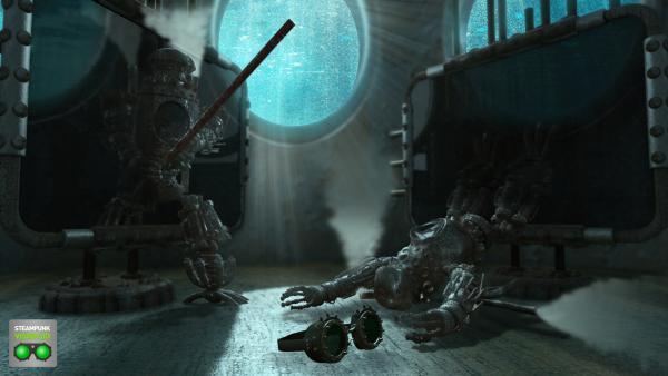 Работа на конкурс Steampunk-Vision 3D в Студию, автор Kravchenko Vadim Anatolievich