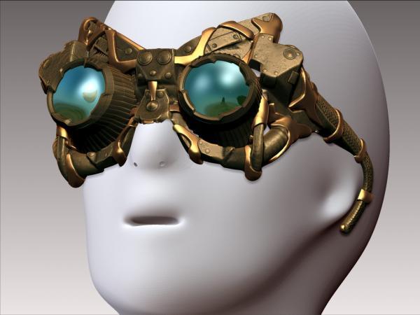 Работа на конкурс Steampunk-Vision 3D в Студию, автор Игнат Данилов