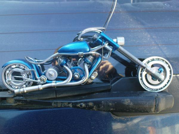 мотоцикл для робота (Фото 12)