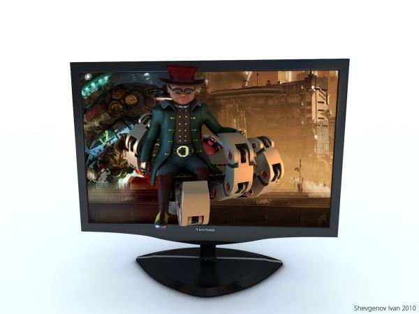 Работа на конкурс Steampunk-Vision 3D в Студию, автор Иван