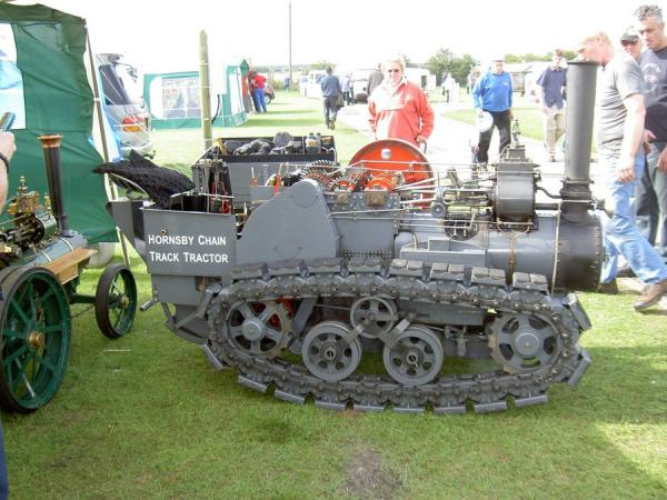 Паровой трактор Хорнсби (Фото 8)