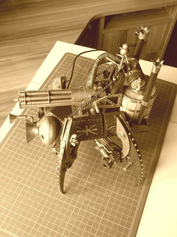 Имперский автономный ударно-разведывательный паровой дрон (Фото 22)