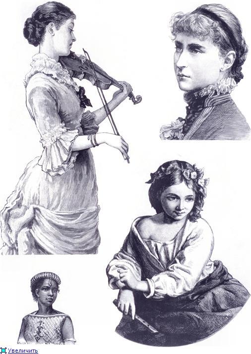 Иллюстрации из викторианских журналов (Фото 13)