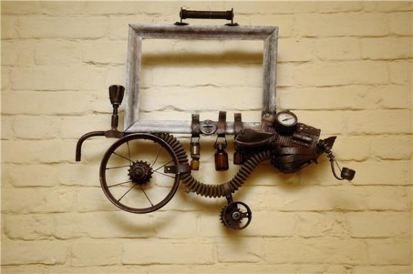 Механическая скульптура в женском исполнении (Фото 8)