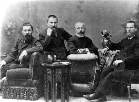 Братья Маштаковы, Григорий, Гаврила, Федор и Павел Даниловичи - новониколаевские, барнаульские купцы.