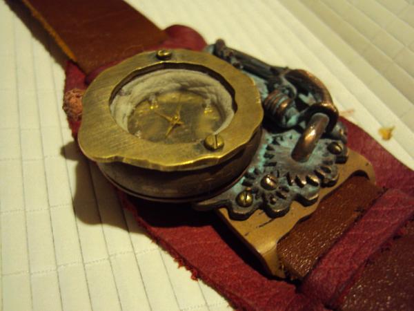 Стим-панк, часы для дам (Фото 5)