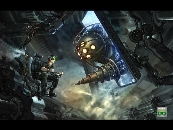 Работа на конкурс Steampunk-Vision 3D в Студию, автор kuz