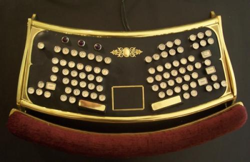 Стимпанк клавиатура от Datamancer