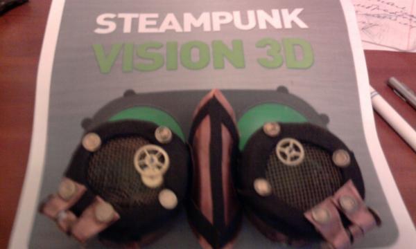 """Ворк логи для конкурса """"STEAMPUNK-VISION 3D"""" от NVIDIA (Фото 2)"""