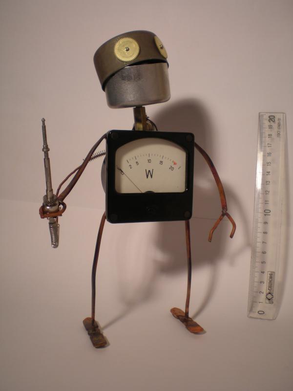 """Робот """"Гоша"""" лихой и немного придурковатый (Фото 2)"""
