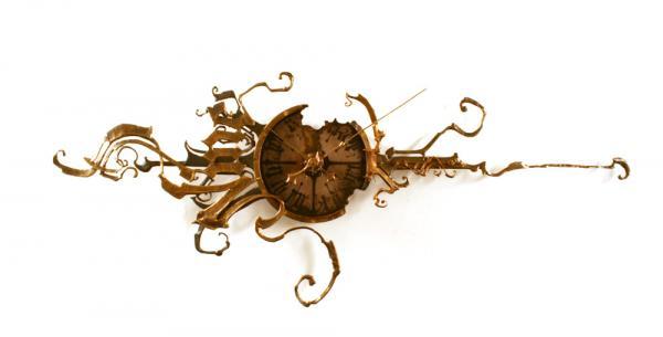 Оригинальные настенные часы от Eric Freitas