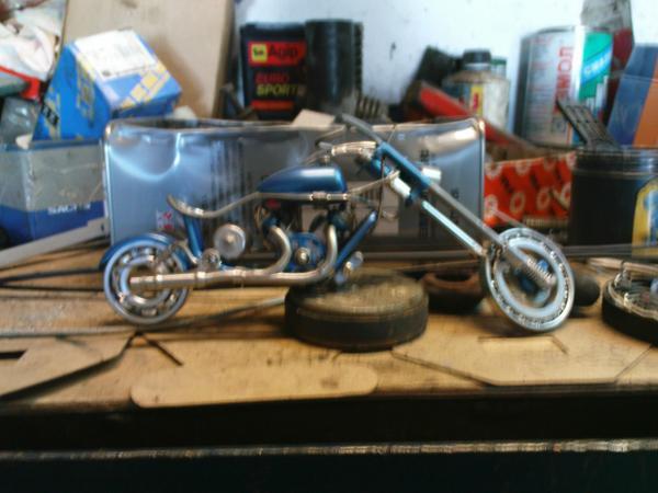 мотоцикл для робота (Фото 10)