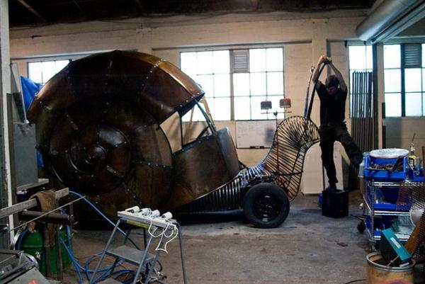 Jon Sarriugarte и его Volkswagen Snail (Фото 5)