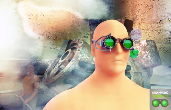 Работа на конкурс Steampunk-Vision 3D в Студию, автор Евгений