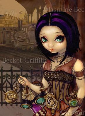 Выразительные глаза в работах Jasmine Becket-Griffith (Фото 10)