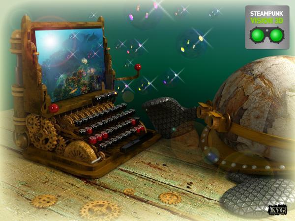Работа на конкурс Steampunk-Vision 3D в Студию, автор Виталий
