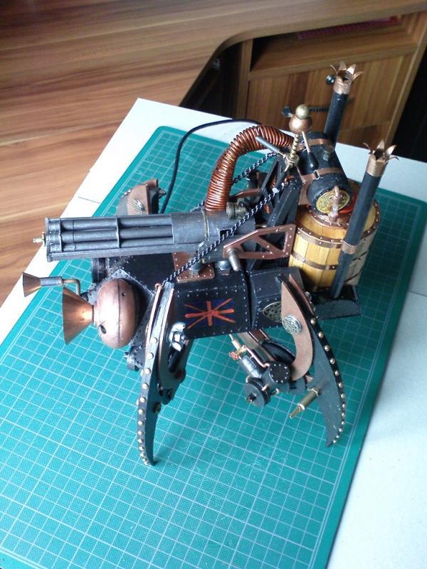 Имперский автономный ударно-разведывательный паровой дрон (Фото 10)
