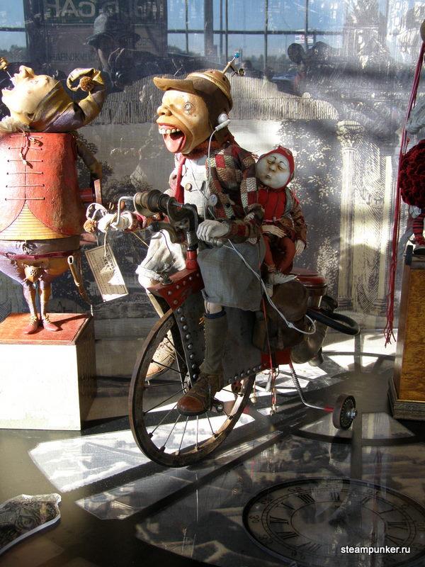 """Стимпанк стенд на """"Олдтаймер-галерее"""" 7-10 октября 2010 (Фото 27)"""