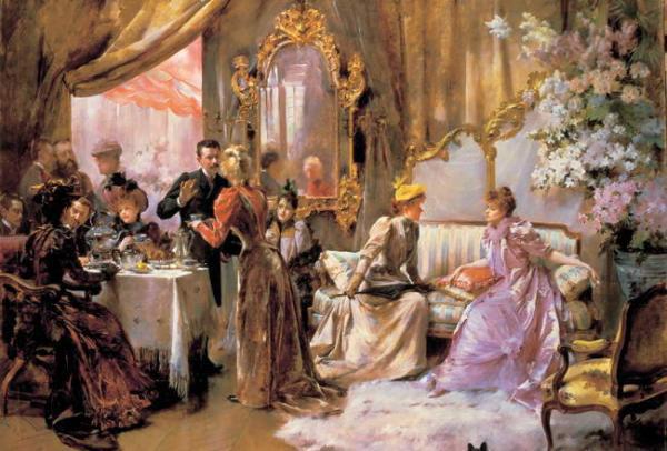 Чайный этикет викторианской Англии
