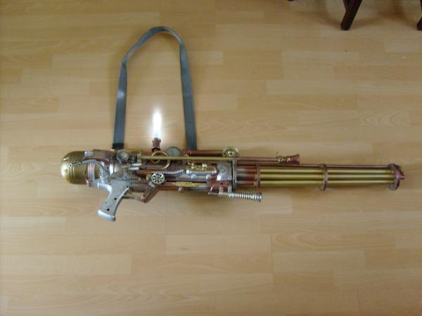 Steampunk weapon! (Фото 9)