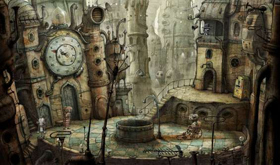Новая адвентюра Machinarium