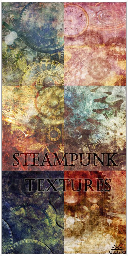 7 Steampunk Textures