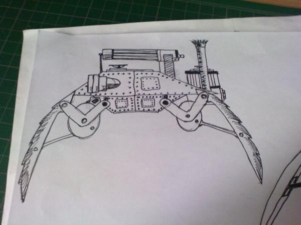 Имперский автономный ударно-разведывательный паровой дрон (Фото 4)