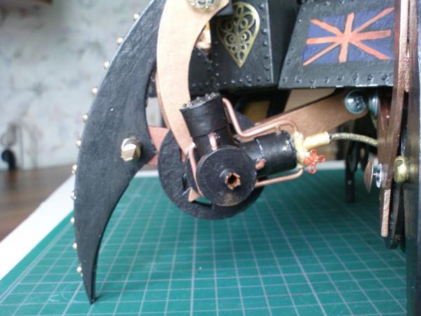 Имперский автономный ударно-разведывательный паровой дрон (Фото 16)