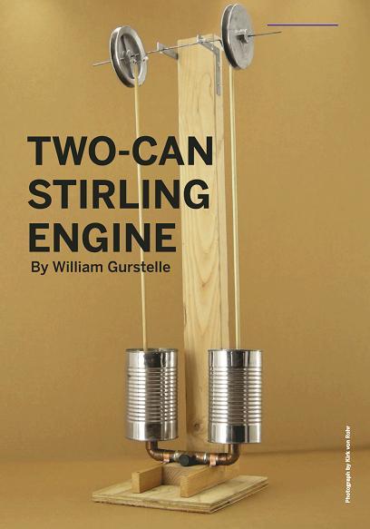 Двигатель Стирлинга дома