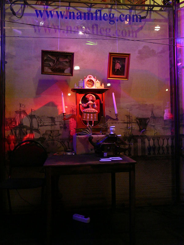 Вечерние фотографии стенда Steampunker.ru (Фото 3)
